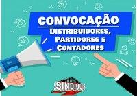 Convocação Distribuidores Partidores e Contadores