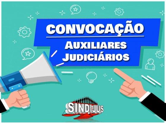 CONVOCAÇÃO AUXILIAR JUDICIÁRIO cópia